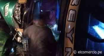 Ica: violento choque dejó a cinco personas fallecidas en Palpa | VIDEO - El Comercio Perú