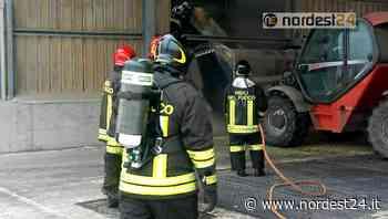 Incendio a Codroipo di un essicatoio, via 700 quintali di soia - Nordest24.it