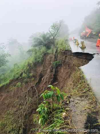 Vía Gualaca-Chiriquí Grande, se vio afectada tras fuertes lluvias - Chiriquí - frecuenciainformativa.com