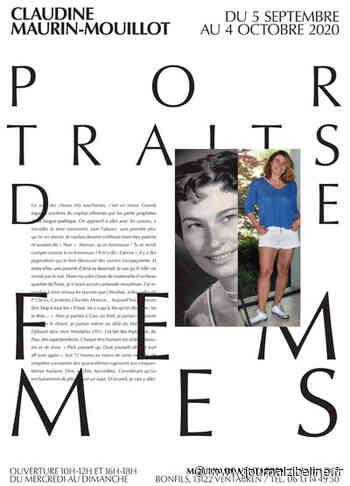 Claudine Maurin-Mouillot expose ses Portraits de femmes à Ventabren jusqu'au 4 octobre - Journal Zibeline