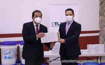Recibe Huamantla equipo para desinfectar agua - El Sol de Tlaxcala