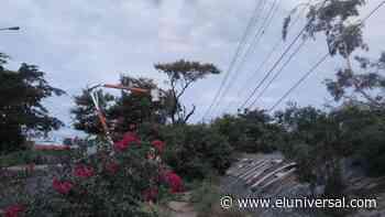 7 horas sin electricidad por lluvias en Barquisimeto y Cabudare - El Universal (Venezuela)