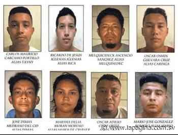 Detienen a 15 presuntos pandilleros en municipios de Lolotique, Chapeltique y Moncagua - Diario La Página
