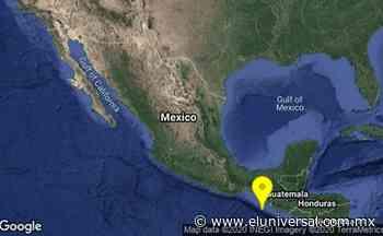 Reportan sismo de 4.8 en Ciudad Hidalgo, Chiapas | El Universal - El Universal