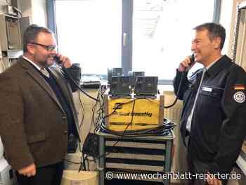 THW-Ortsverband Dettenheim erhält moderne Kommunikationsanlage - Dettenheim - Wochenblatt-Reporter