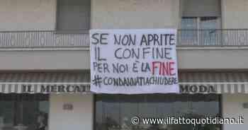 """Mobilità tra Regioni, i commercianti di Castelvetro Piacentino protestano: """"Se non riaprono subito i confini, noi chiudiamo"""" - Il Fatto Quotidiano"""