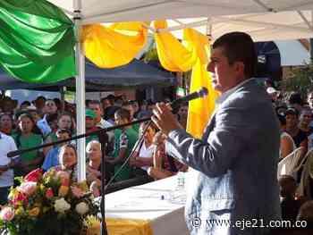 Posesión alcalde de Guática - Eje21 - Eje21