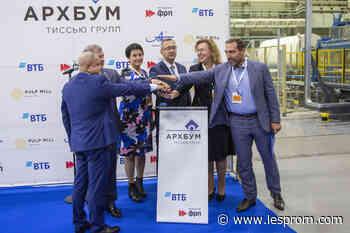Arkhbum Tissue Group starts Kaluga tissue plant - Lesprom Network