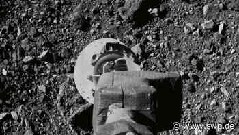 """Berghof GmbH arbeitet für die NASA: Folie aus Eningen landet auf Asteroid """"Bennu"""" - SWP"""