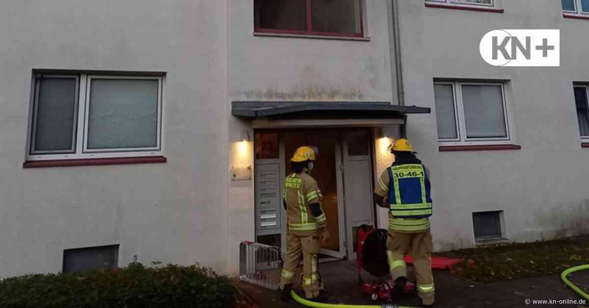 Waschmaschine in Brand geraten: Feuer in Mehrfamilienhaus in Wahlstedt - Kieler Nachrichten