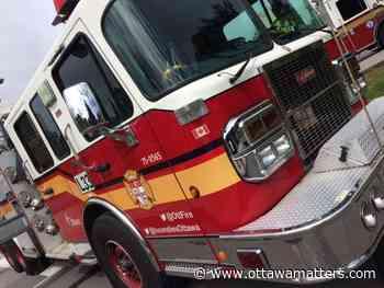 Ottawa fire crews save family dog from basement fire in Manotick - OttawaMatters.com
