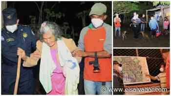 Pobladores de caserío en Tecoluca, San Vicente, abandonan sus viviendas ante posible afectación de huracán Eta | Noticias de El Salvador - elsalvador.com