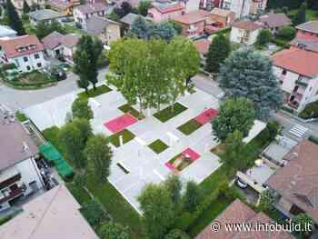 La nuova piazza-giardino di Garbagnate Milanese si apre al dialogo - Infobuild