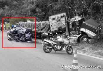 Festivo fatal: Un muerto y cuatro heridos tras impresionante accidente en Guaduas - Extra Boyacá