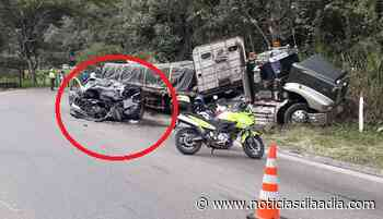 Mortal accidente entre Guaduas y Villeta, Cundinamarca - Noticias Día a Día