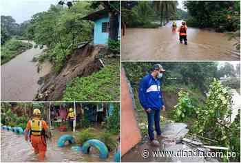 Lluvias provocan inundaciones en Barú y Alanje... centenar de personas afectadas - Día a día