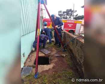 Homem cai em poço d'água de 10 metros em Curitibanos - ND - Notícias