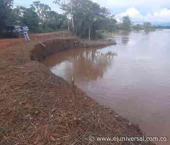 El invierno causa erosiones en San Jacinto del Cauca - El Universal - Colombia