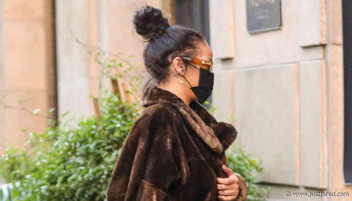 Rihanna Seen at NoMad Hotel in L.A., Where 'Set' Rules Can Be Seen