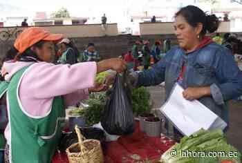 Feria del productor al consumidor todos los jueves en Pelileo - La Hora (Ecuador)