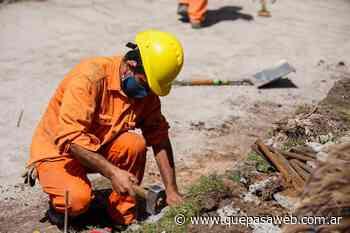 Comenzaron obras de pavimentación en Villa Martelli, Olivos y Munro - Que Pasa Web