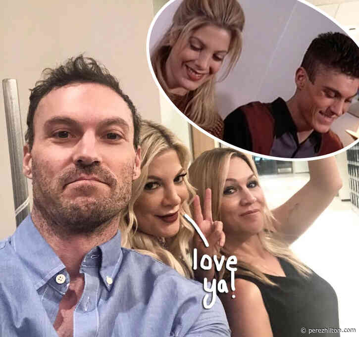 Tori Spelling Defends Brian Austin Green After Exes Shaded The S**t Out Of Him!