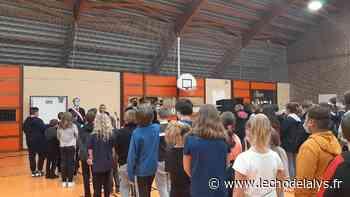 Samuel Paty : Hommage solennel au collège de l'Esplanade, à Saint-Omer (vidéo) - L'Écho de la Lys