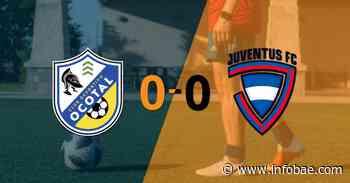 D. Ocotal y Juventus FC terminaron sin goles - infobae