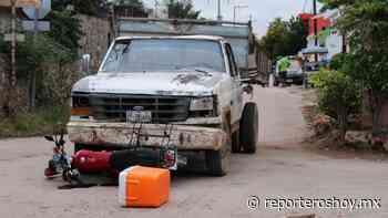 Camionero manda a volar a repartidor de tortillas en Peto - Reporteros Hoy