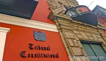 TC rechazó demanda para reconocer la unión matrimonial de Óscar Ugarteche   Panamericana TV - Panamericana Televisión