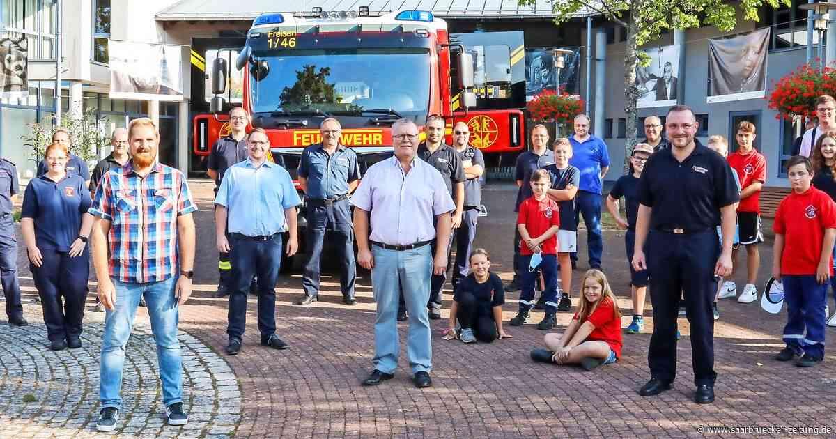 Feuerwehr Freisen erhält neue Fahrzeuge, auch Marpingen bekommt eines - Saarbrücker Zeitung