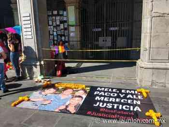 Demandan justicia familiares de cuatro estudiantes de preparatoria de Jojutla asesinados - Unión de Morelos
