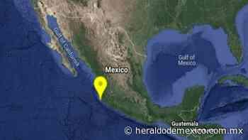 Reportan sismo magnitud 4.8 al noroeste de Cihuatlan, Jalisco - Heraldo de México