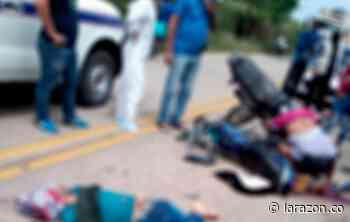 Identifican a víctimas de fatal choque de motos en Puerto Libertador - LA RAZÓN.CO