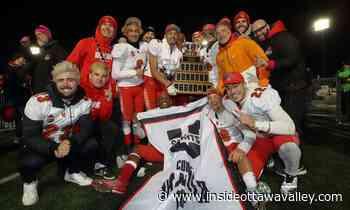 New direction for Patrick Pankow, University of Calgary's Vanier Cup winner from Lanark County - Ottawa Valley News
