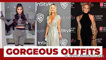 Check Out Kim Kardashian, Kaley Cuoco, Sharon Stone In These Gorgeous Outfits; You Will Be Stunned! - IWMBuzz