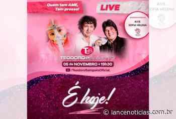 Live com Teodoro e Sampaio em prol de Sofia Helena acontece nesta quinta-feira (05) - Lato
