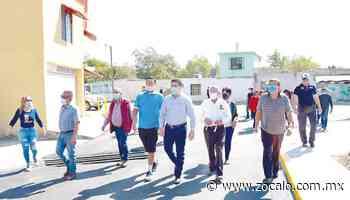 Entregan obra en el callejón Manuel Acuña en Nueva Rosita - Periódico Zócalo