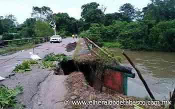 A punto del colapso puente de Huimanguillo - El Heraldo de Tabasco