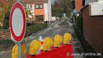 Baustellen in Elbe-Elster: Wettlauf mit dem Winter in Plessa und Elsterwerda - Lausitzer Rundschau