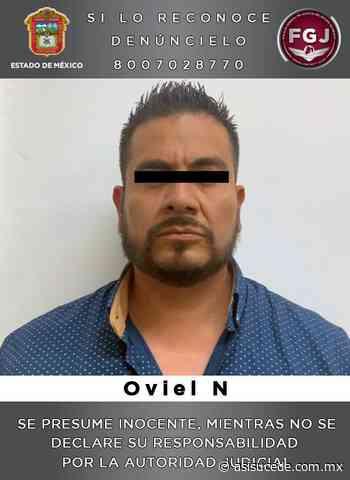 Detienen en Coacalco a sujeto que habría intentado asesinar a su pareja sentimental - Noticiario Así Sucede
