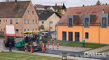 Schlussspurt beim Bauabschnitt I der Dorferneuerung Edelsfeld - Onetz.de