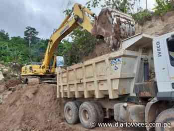 Inician mantenimiento de vía Cuñumbuque – San José de Sisa - Diario Voces