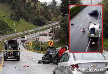 Desgarrador: Momentos del accidente en Ventaquemada, donde murió una bebé [VIDEO] - HSB Noticias