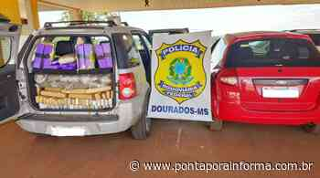 Ponta Pora: PRF apreende 187 Kg de maconha e 1,7 Kg de cocaína - Ponta Porã Informa - Notícias de Ponta Porã - Ponta Porã Informa