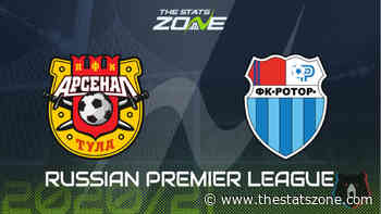 Russian Premier League 2020-21 - Arsenal Tula vs Rotor Volgograd Preview and Prediction - The Stats Zone