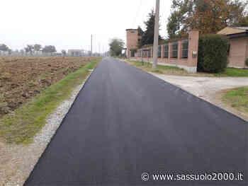 Numerosi interventi di manutenzione stradale a Formigine e frazioni - sassuolo2000.it - SASSUOLO NOTIZIE - SASSUOLO 2000