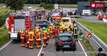 Oberessendorf: Schwerer Unfall auf der B30   schwäbische - Schwäbische