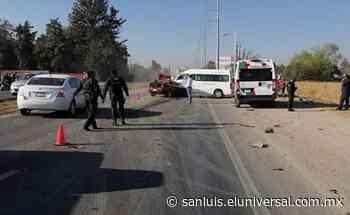Accidente en carretera a Matehuala deja dos muertos en SLP - El Universal