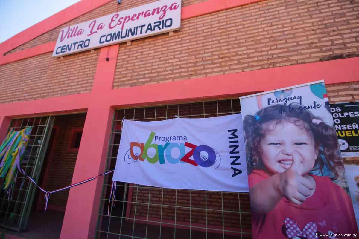 Inauguran nuevo centro del programa Abrazo en Itacurubí del Rosario - launion.com.py